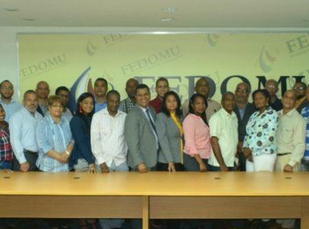 FEDOMU fortalece presupuesto participativo